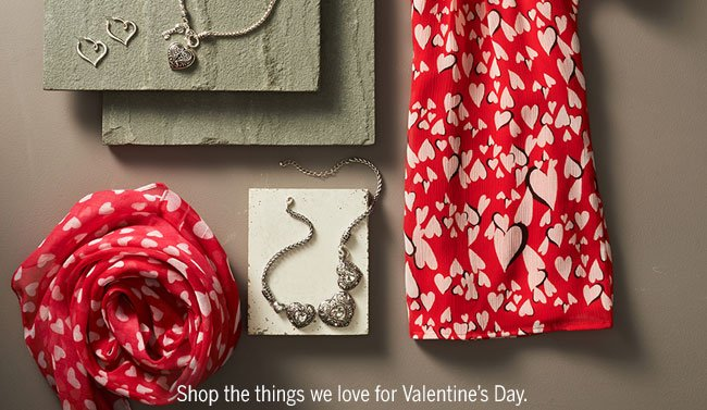 Shop the things we love for Valentine's Day.