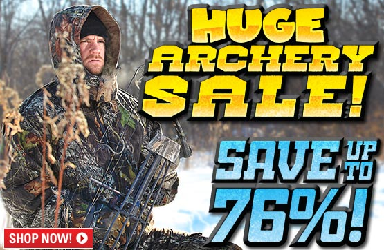 Sportsman's Guide's Archery Sale! Save Up To 76%!