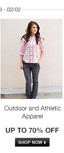 Outdoor and Athletic Apparel