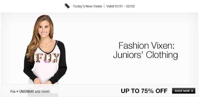 Fashion Vixen: Juniors Clothing