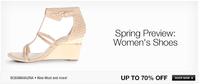 Spring Preview: Women's Shoes