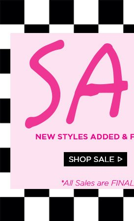 Sale! New Styles Added! Shop Sale