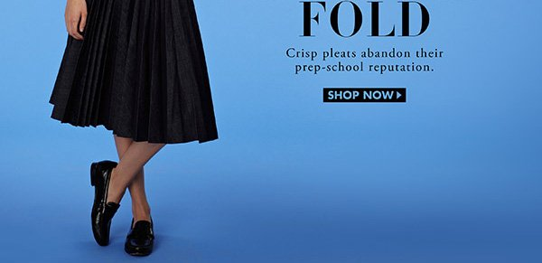 Shop Pleated Skirts Now
