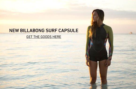 New BIllabong Sure Capsule