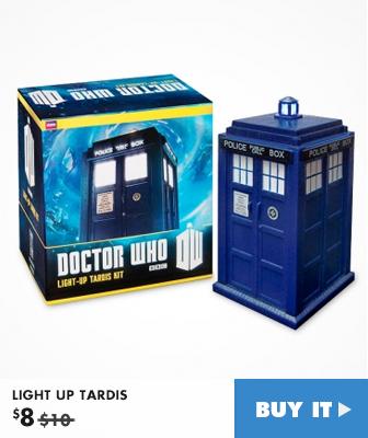 LIGHT UP TARDIS