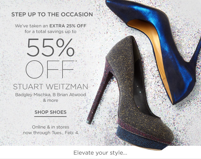 Up to 55% off Shoes