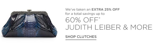 Up to 60% off Judith Leiber & more