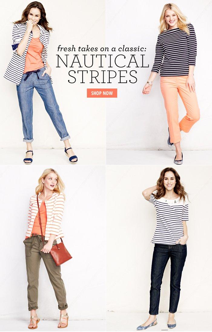 Nautical Stripes Shop Now