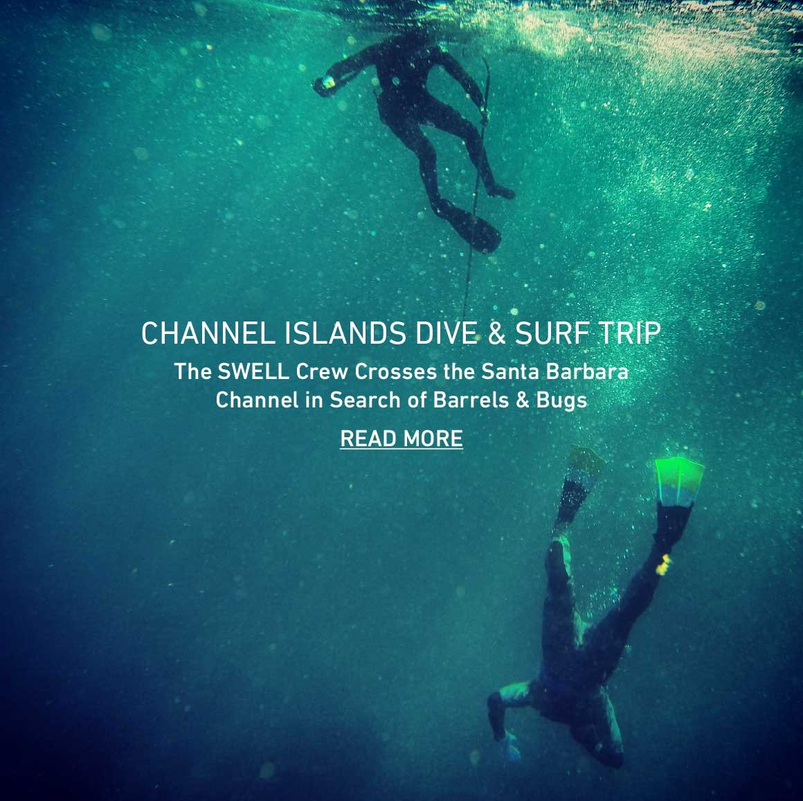 Channel Islands Dive + Surf Trip