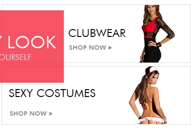 CLUBWEAR & SEXY COSTUMES