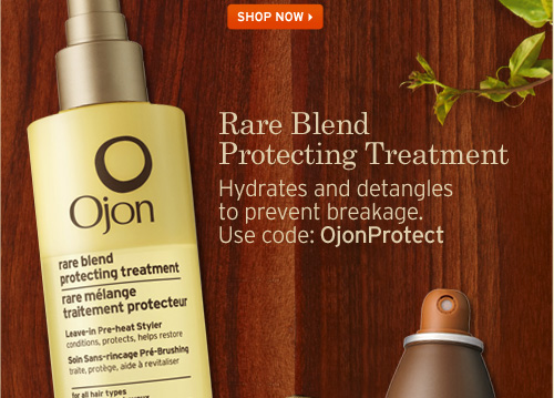 Rare  Blend Protecting Treatment Hydrates and detangles to prevent breakage  Use code OjonProtect
