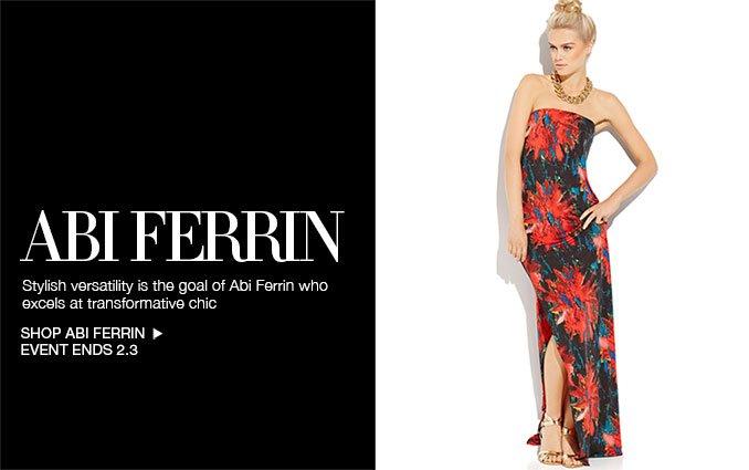 Shop Abi Ferrin - Ladies.