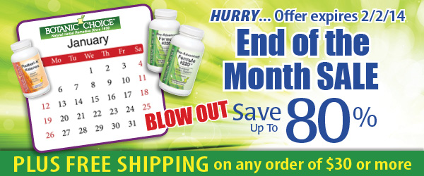 End of the month Blow out SALE! Save up to 80% off plus get FREE shipping on orders of $30 or more