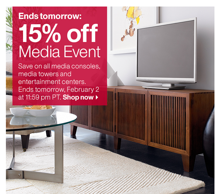 15% off Media Event