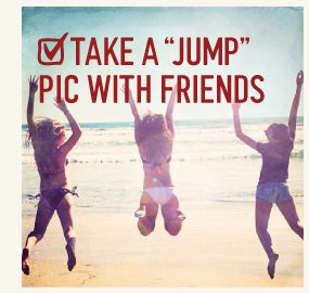 """TAKE A """"JUMP"""" PIC WITH FRIENDS"""