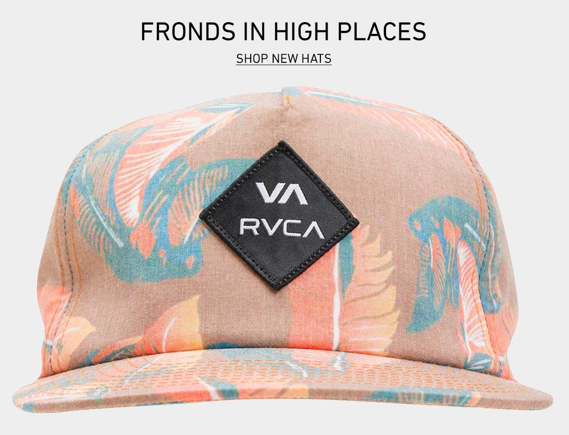 Fronds in High Places: Shop New Hats