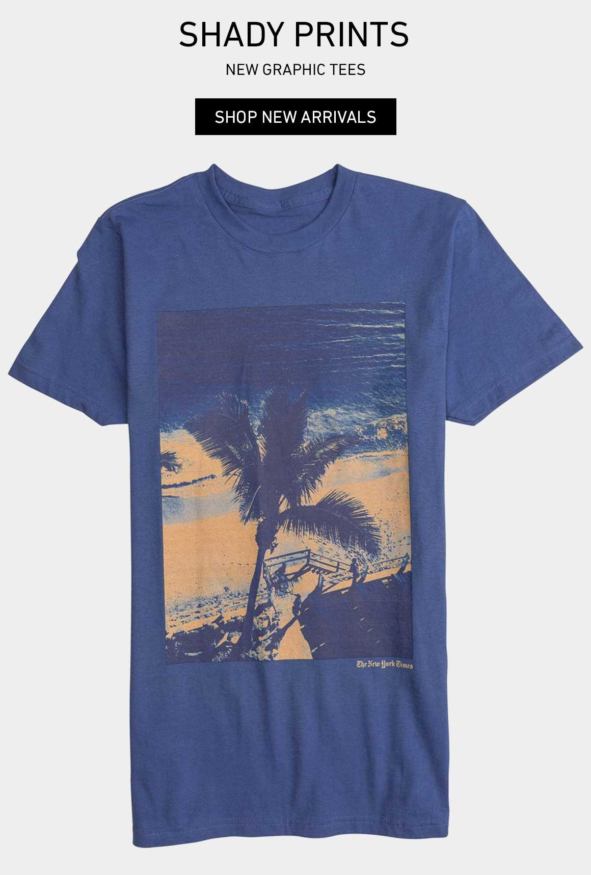 Shady Prints: New Graphic Tees
