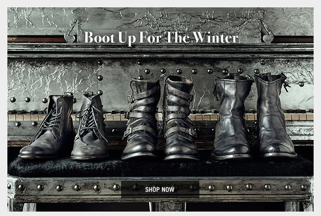 Boot Up For the Winter