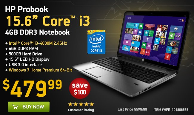 15.6-Inch Core i3  Laptop