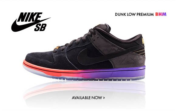 Nike SB Dunk Low Premium BHM Available Now!