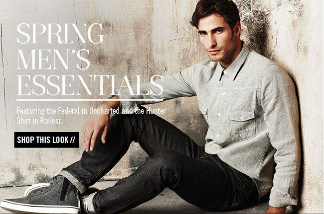 Spring Men's Essentials - Shop This Look