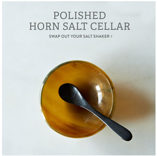 Horn Salt Cellar