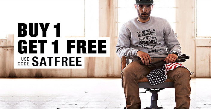 Buy 1 Get 1 Free: Sweatshirts