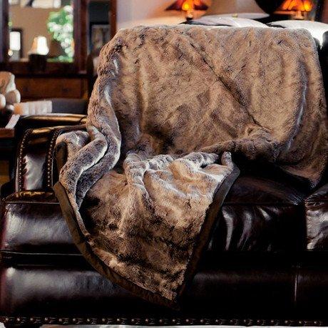 Russet Chinchilla // Throw Blanket