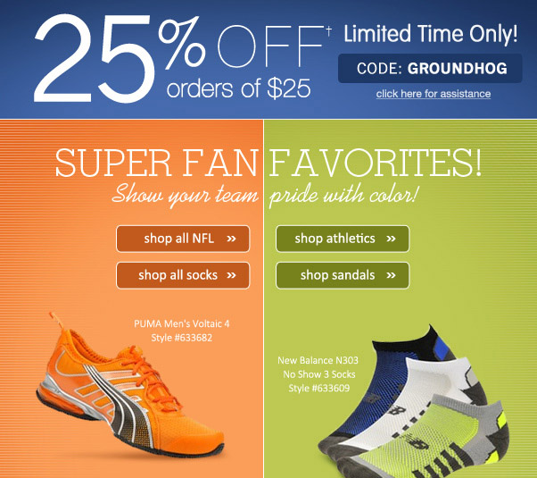 Fab Footwear For Our Football Fanatics...