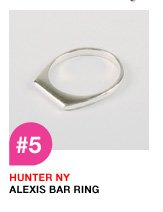 Hunter NY Alexis Bar Ring
