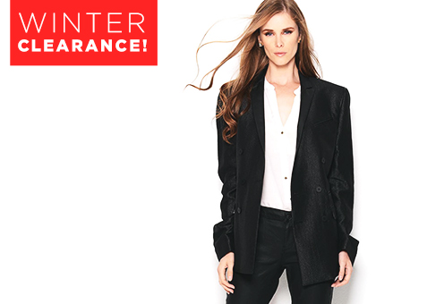 Winter Clearance! Designer Apparel for Her