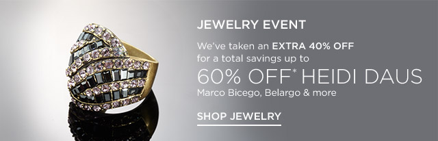 Up to 60% off Heidi Daus, Marco Bicego & more
