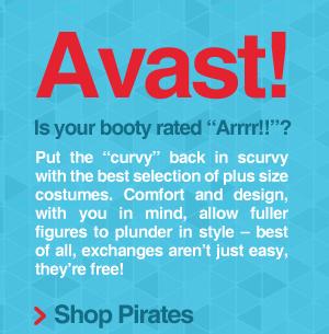 Shop Plus Size Pirates