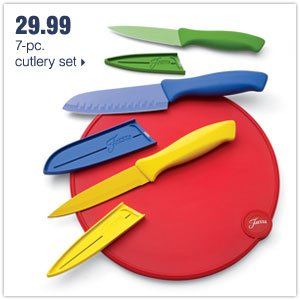 29.99 7-pc. cutlery set.