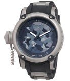 Invicta 1202 Men's Russian Diver Lefty Grey Camouflage Dial Watch