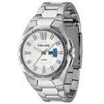 Police PL-13451JS-04M Men's Seal Silver Dial Stainless Steel Bracelet Watch