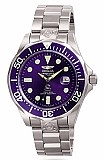 Invicta 3045 Men's Grand Diver Automatic Blue Dial Stainless Steel Watch