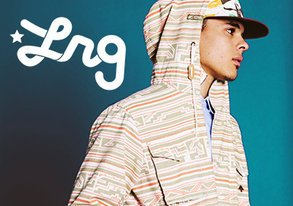 Shop NEW LRG: Patterns & Camo for Spring