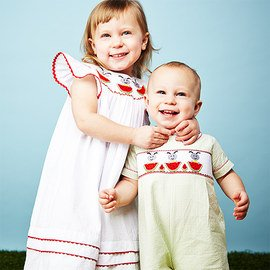 Sibling Match-Up: Smocked Apparel