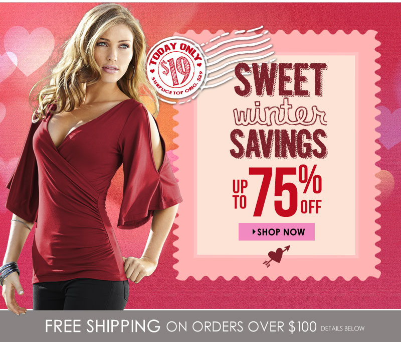 Up to 75% OFF, Shop Sweet Deals!