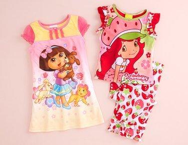Pajama Party: Girls' Sleepwear