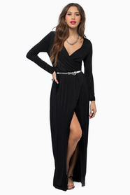 Mimi Maxi Wrap Dress 42