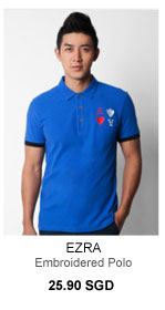 Emboroidered polo $25.90