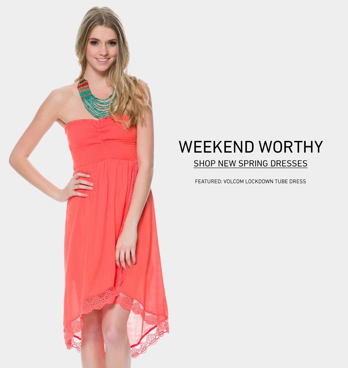 Weekend Worthy: New Spring Dresses