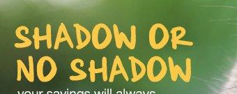 shadow or no shadow