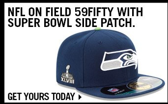 Shop NFL On Field 59FIFTY With Super Bowl Side Patch