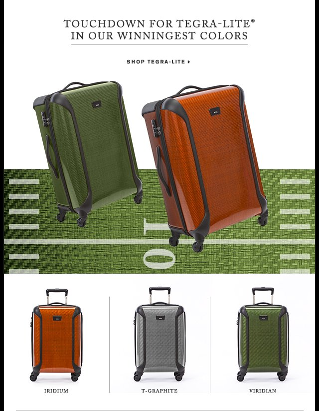 Touchdown for Tegra-lite in Our Winningest Colors - Shop Now
