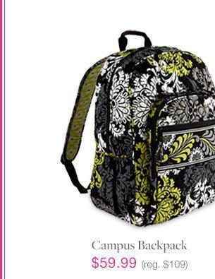 Campus backpack, $59.99 (reg $109)