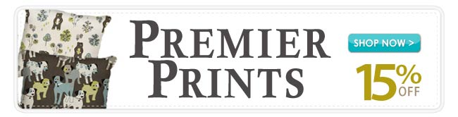 15% off during our Premier Prints Sale