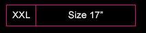 Sizes 17'